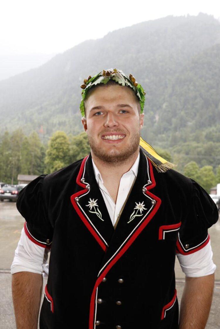 40 Kranzgewinn Am Oberlandischen Schwingfest 2019 Foto Barbara Loosli