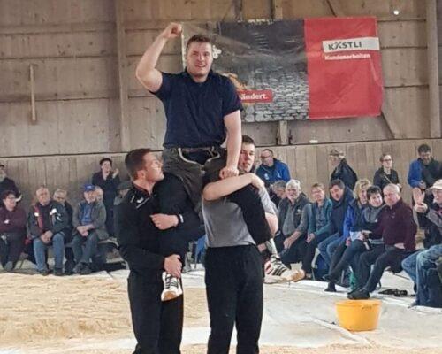 111 Festsieg am Worbletaler Hallenschwingfest 2019